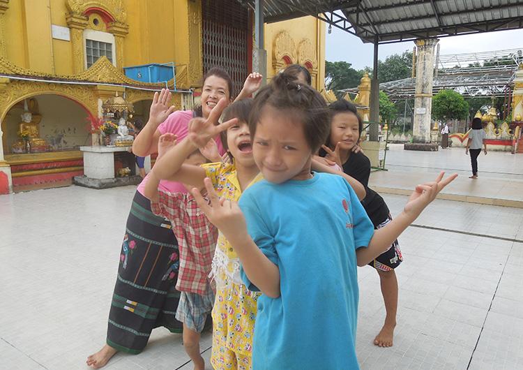 ジャパンハート 国際医療ボランティア ミャンマー里親ドリームトレイン