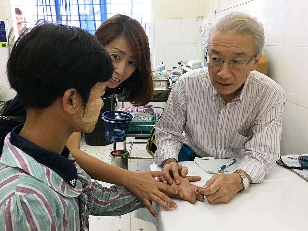 ジャパンハート ミャンマー 専門医療プロジェクト