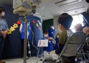 病院がプラネタリウム in 大阪 SmileSmilePROJECT ジャパンハート