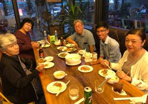 国際医療の現場を知る活動視察カンボジア 食事