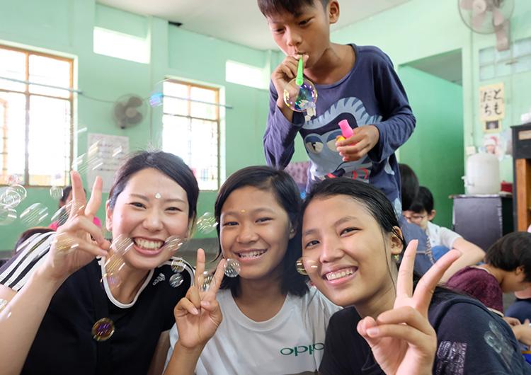 ミャンマー ボランティア 看護師