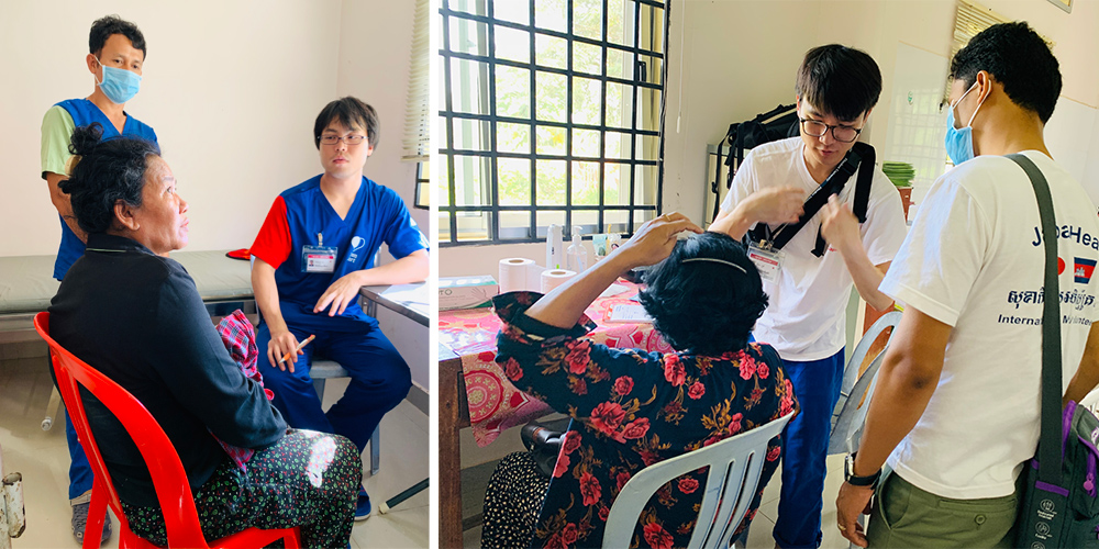 ジャパンハート カンボジアカンボジア 巡回診療・手術活動