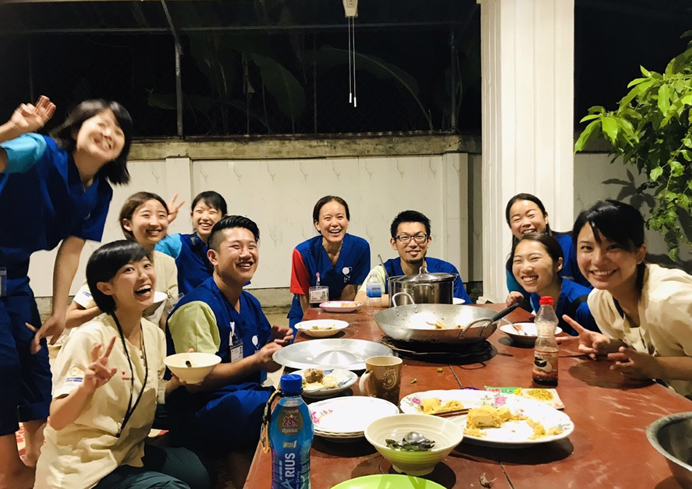 看護師 ボランティア カンボジア