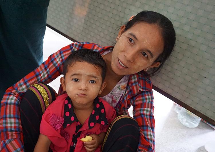 ミャンマー 看護師 活動レポート