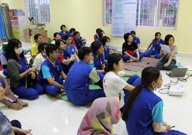 命を守る手指衛生と感染予防のためにできること カンボジア 看護師ボランティア