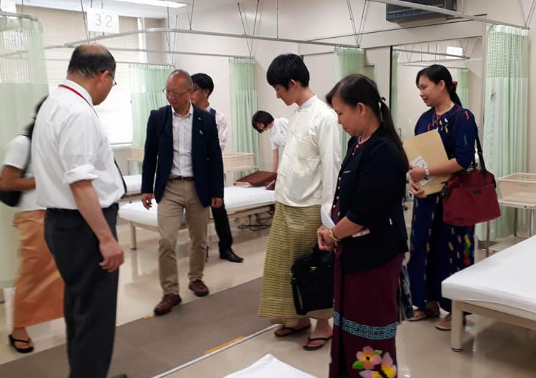ミャンマー社会福祉省役人の日本訪問 ジャパンハート