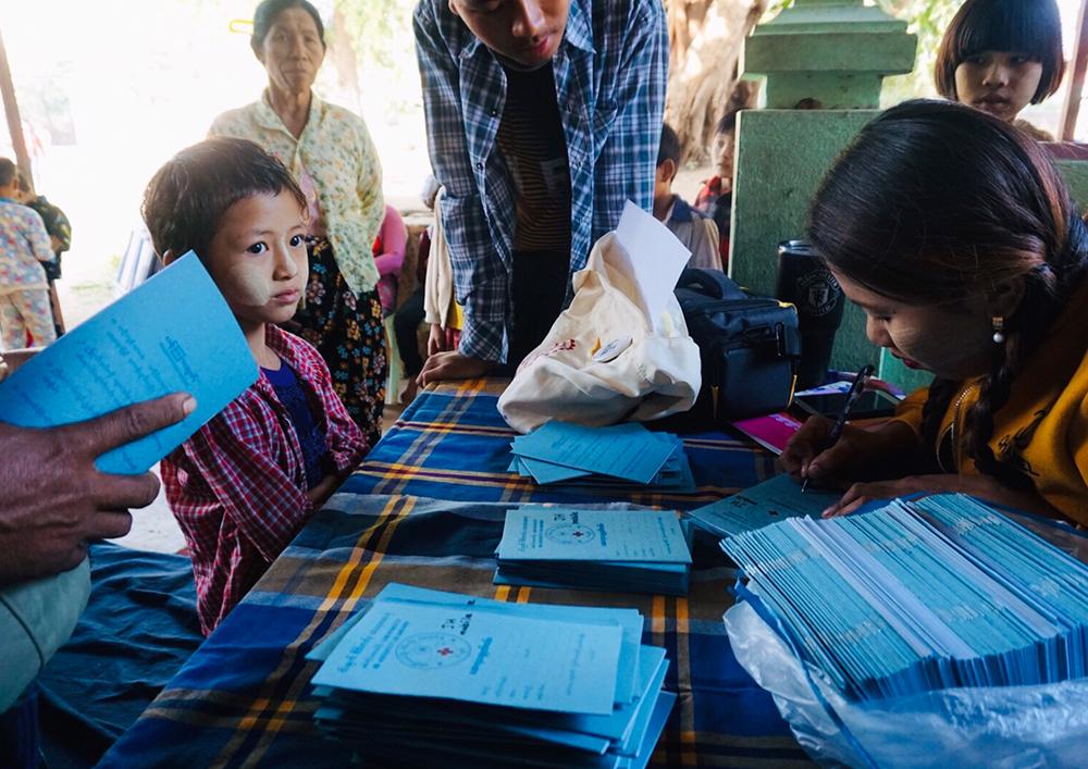 三菱商事様からミャンマー マンダレー管区小児医療支援プロジェクトにご支援いただきました。