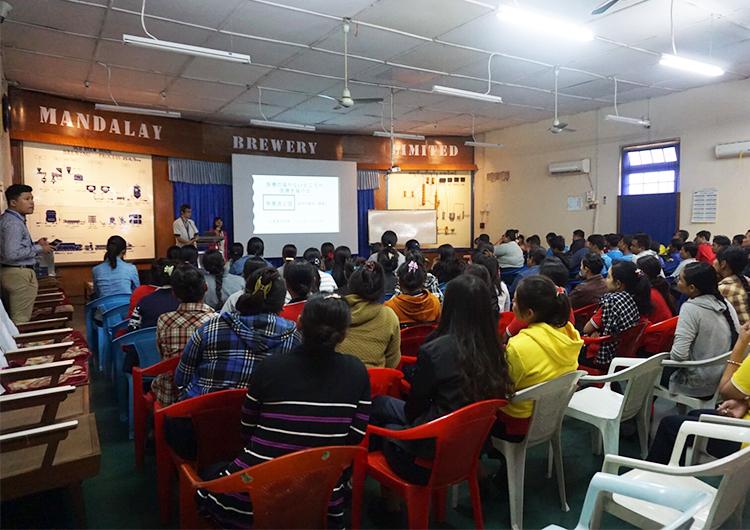 ミャンマーにおける非感染性疾患の現状について