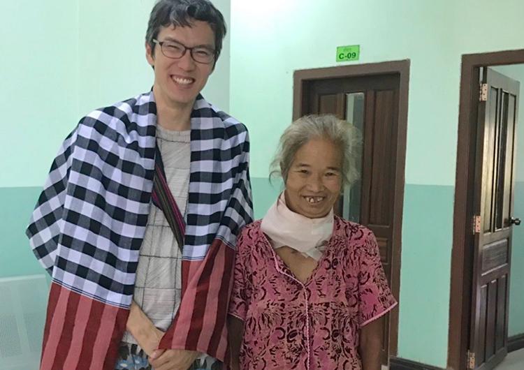 自分の実存を賭して、自分の言葉で語ること。 ミャンマー 医師 医療支援