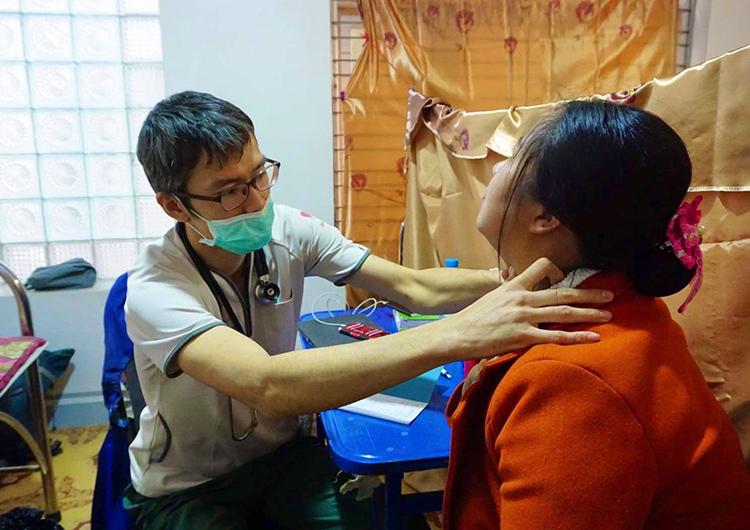 貧しさの風景 ミャンマー 医療活動 医師 大江