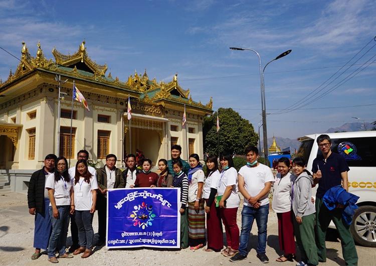 ミャンマー ワッチェ村から車で7時間、モゴクで診療活動をしました。