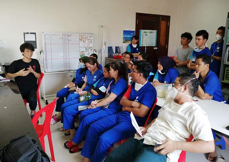 長期ボランティア医師として活動に参加して感じたこと