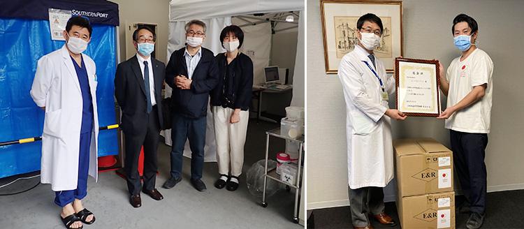 #マスクを医療従事者にプロジェクト 15,000人の想いをマスクに代えて医療機関に配布しました!