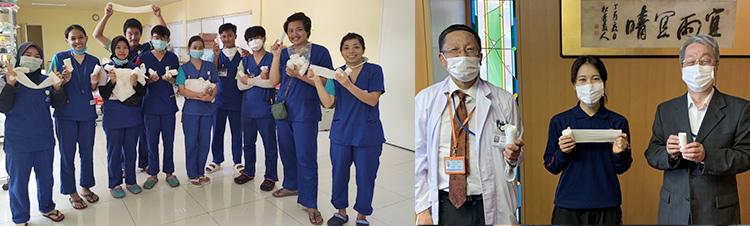 角田看護師レポート/「コスタ・アトランチカ」乗組員への緊急医療支援活動   「長崎との繋がり、カンボジアに届く段ボール」
