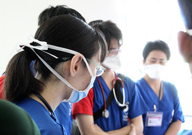 看護師 ボランティア カンボジアで強く生きる患者さん