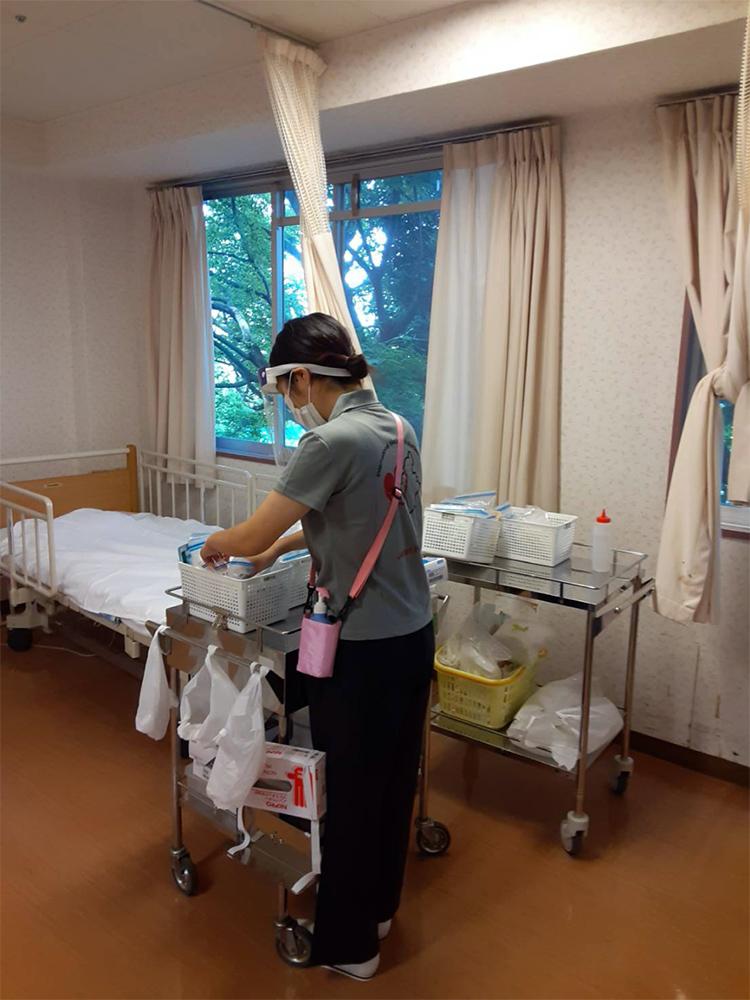 新型コロナウィルスの院内感染が発生した「武蔵野中央病院」への医療支援活動 医療支援チーム派遣