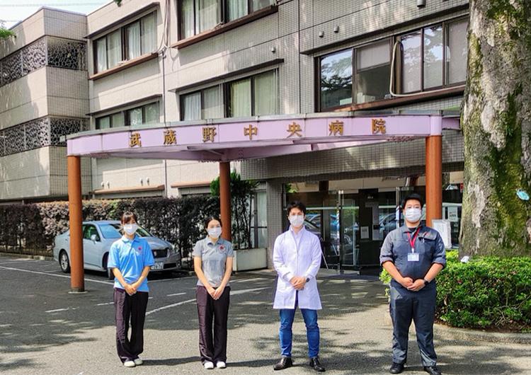 看護師 梅野さんのレポート / 新型コロナウィルスの院内感染が発生した「武蔵野中央病院」への医療支援活動