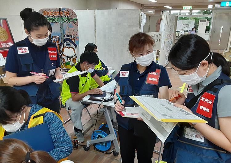 宮田看護師レポート/令和2年7月豪雨 緊急救援
