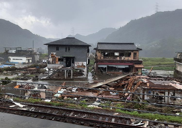 宮田看護師レポート②/令和2年7月豪雨 緊急救援