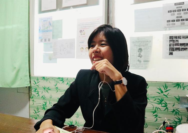 ミャンマーの新型コロナウイルスの状況と活動について。