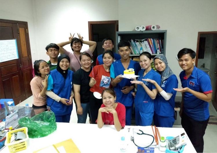 カンボジアで活躍するスタッフ インタビューVol.2 元奨学金生 ピエン看護師