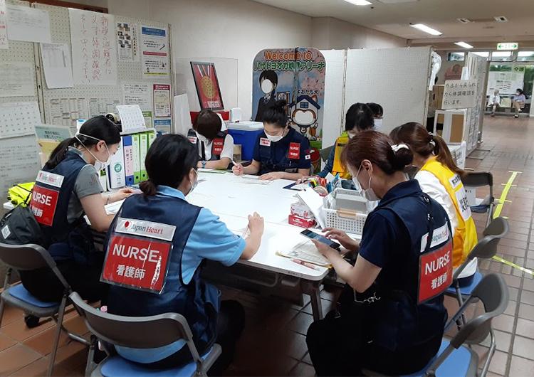 鈴木看護師レポート/令和2年7月豪雨 緊急救援