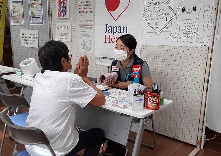 大森看護師レポート/令和2年7月豪雨 緊急救援 看護師 ジャパンハート