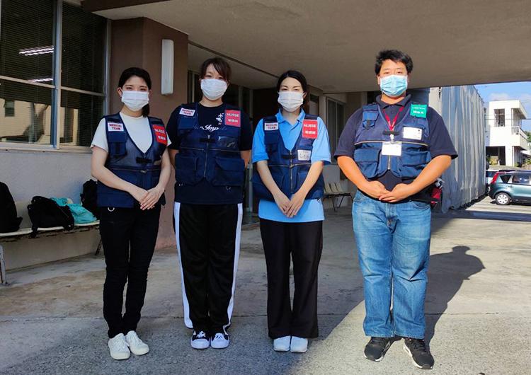 下瀬看護師の活動レポート/新型コロナウイルス感染症のクラスターが確認された「ウェルネス西崎病院」への医療支援活動
