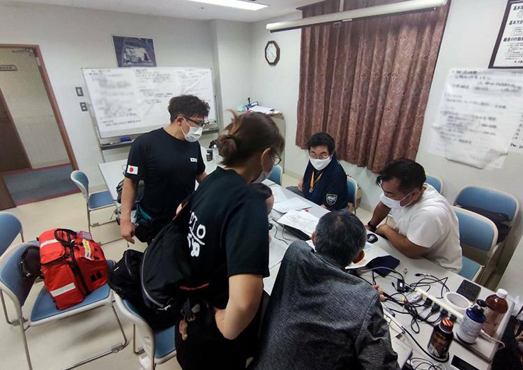 老健太陽におけるコロナ対策 ジャパンハート 看護師 ボランティア