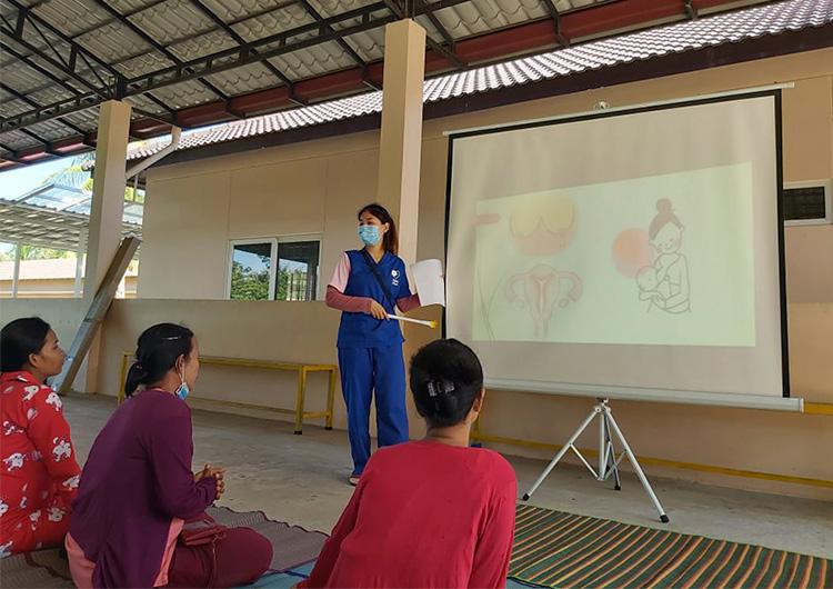 母親学級がグレードアップして再開しました。 ジャパンハート 助産師 活動