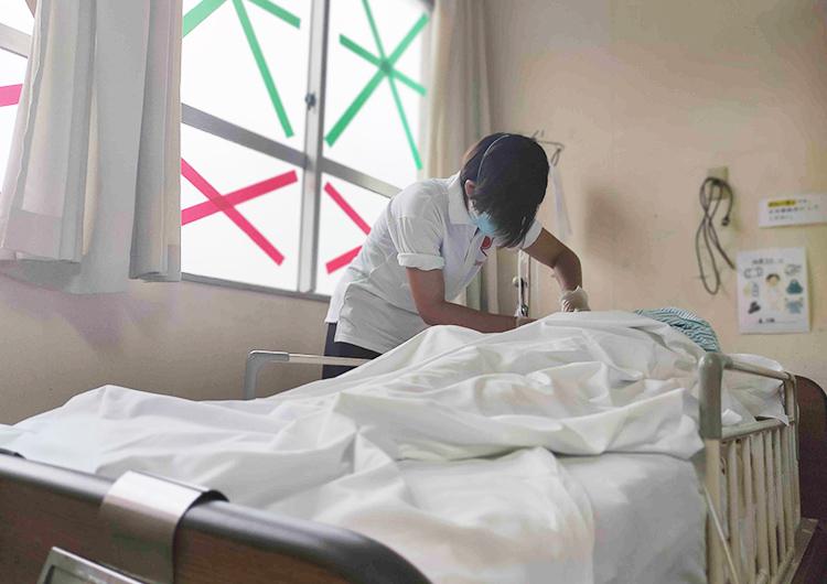 ジャパンハート 鰐川看護師の活動レポート/新型コロナウイルス感染症のクラスターが確認された「ウェルネス西崎病院」への医療支援活動