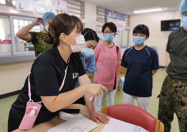 小林看護師の活動レポート/新型コロナウイルス感染症のクラスターが確認された「ウェルネス西崎病院」への医療支援活動