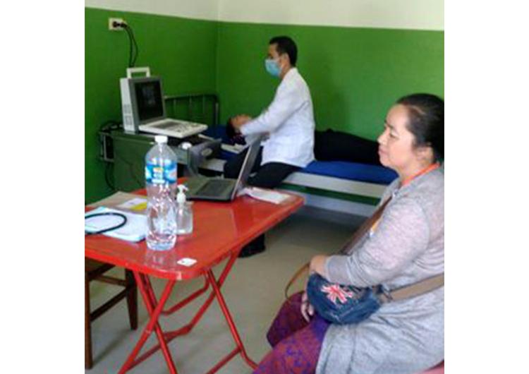 ウドムサイでの診療活動の仕組み - ジャパンハート ラオス
