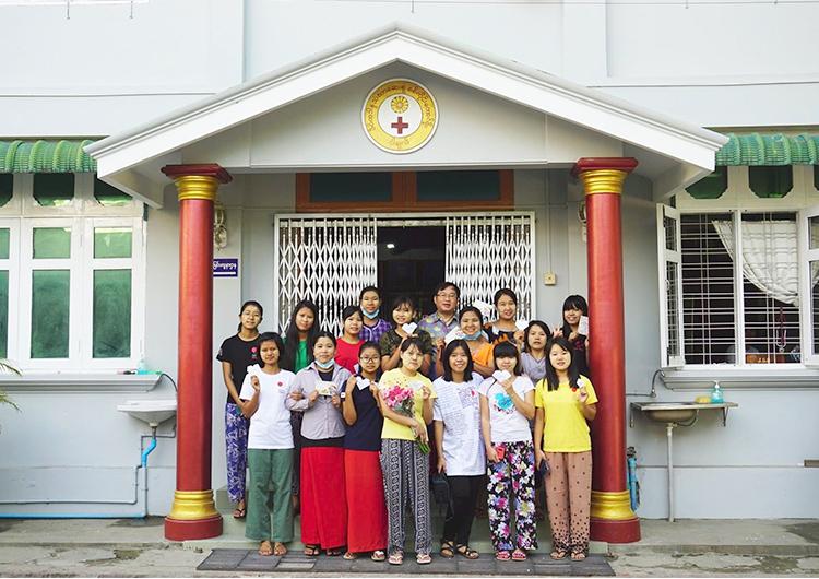 ジャパンハート ミャンマー人医師 マポー先生の新たな旅立ち。