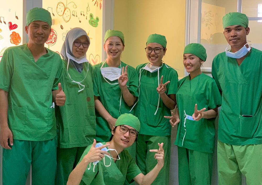 20名弱のがんの子どもたちに行った手術活動期間のレポート - ジャパンハート カンボジア