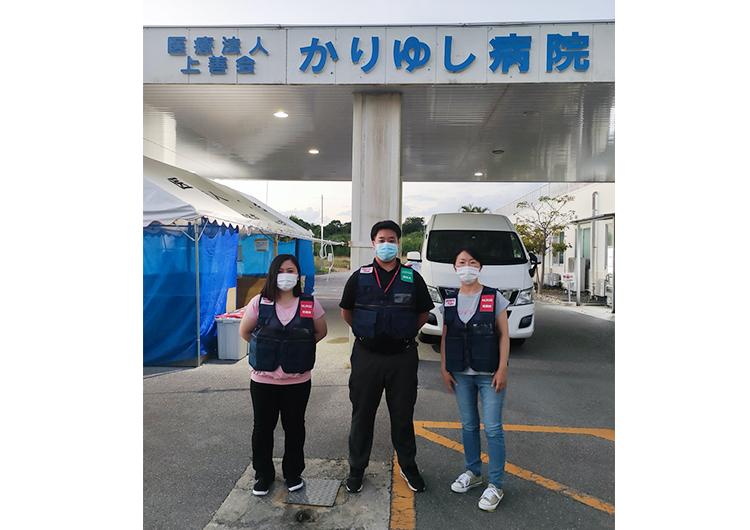前田看護師のレポート / 石垣市かりゆし病院でのクラスター対策医療支援活動