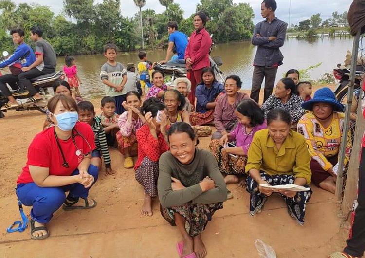 カンボジア ポーサット州洪水被災地緊急医療支援活動で看護師が感じたこと