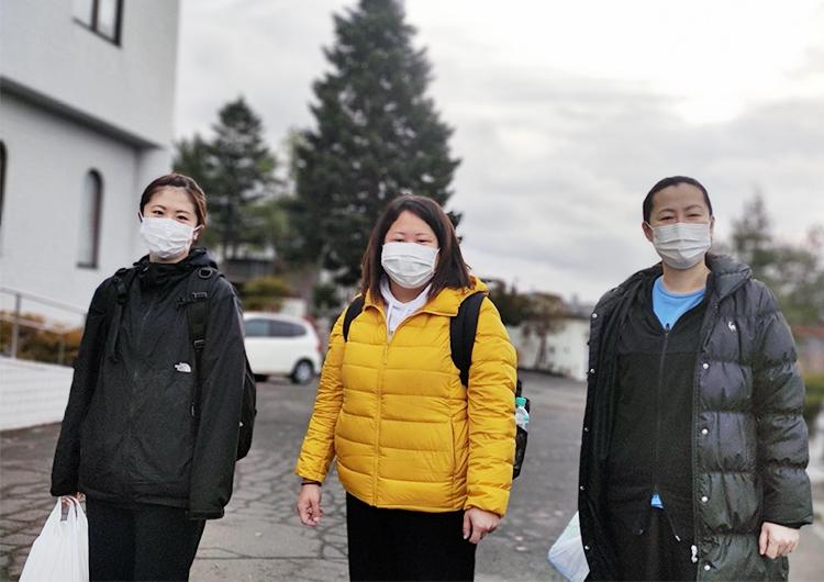 寺岡看護師のレポート / 札幌市クラスター対策医療支援活動