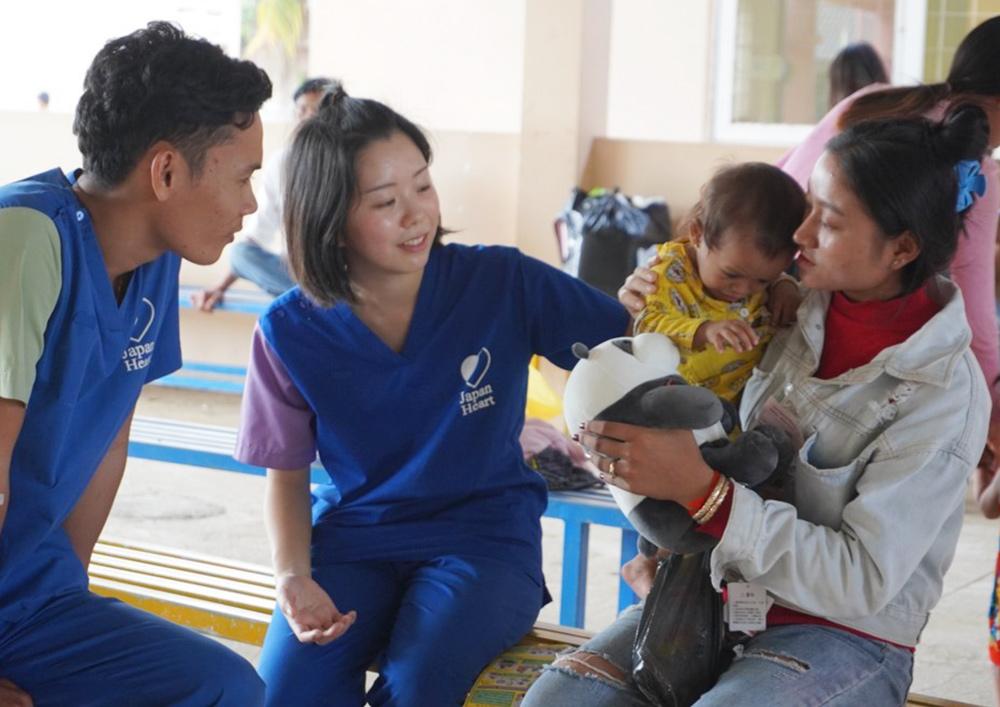 乳幼児健診で栄養指導を実施しました。