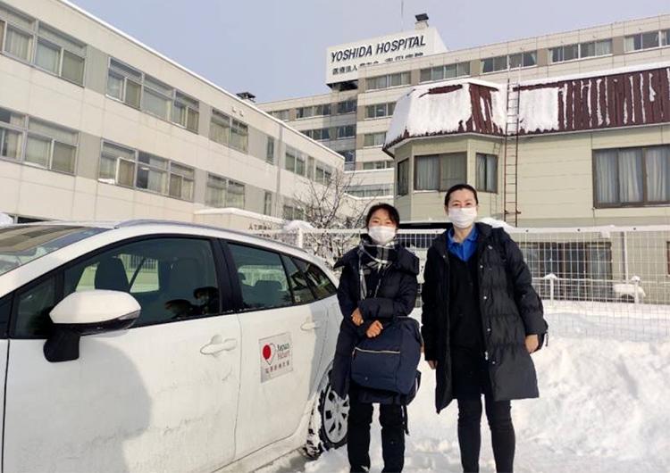 旭川市 クラスター対策支援活動 前田看護師によるレポート