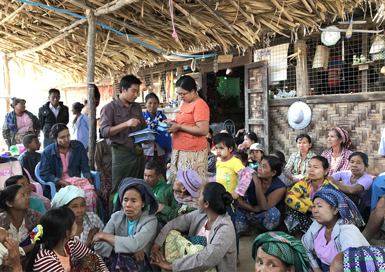 ジャパンハート ミャンマーの学校