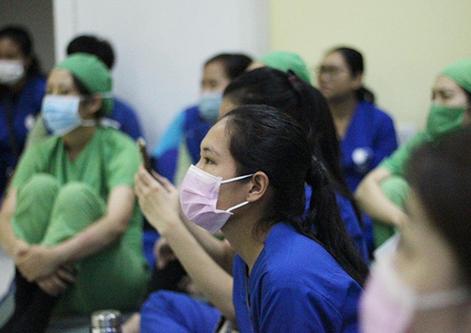 新型コロナウイルス感染対策の見直しを行いました。 ジャパンハート カンボジア