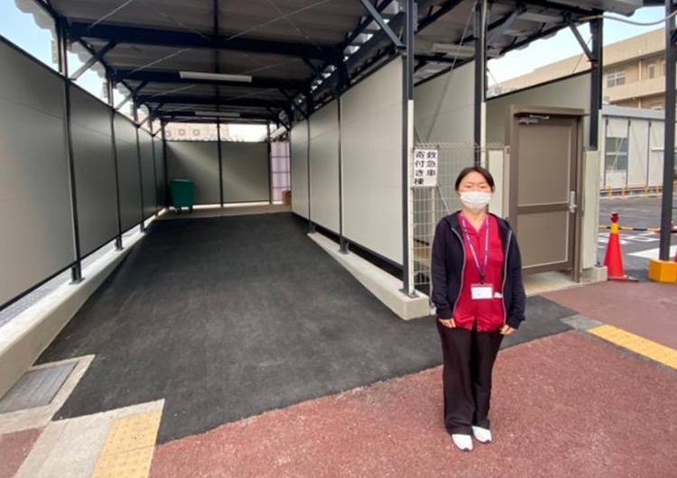 大阪コロナ重症センタークラスター支援  前田看護師によるレポート