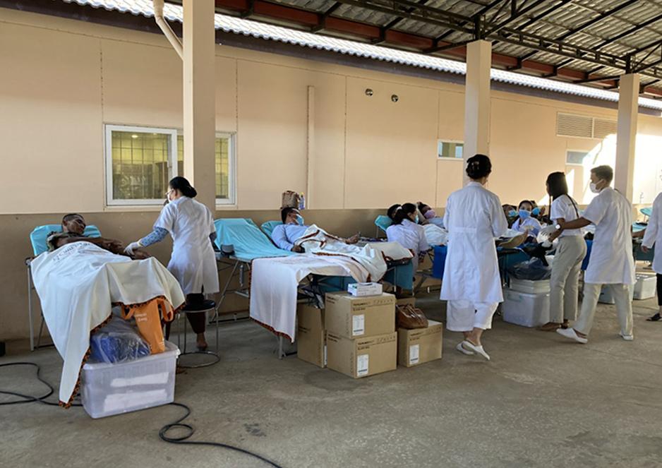 献血キャンペーンで感じたカンボジア人の温かさ ジャパンハート カンボジア