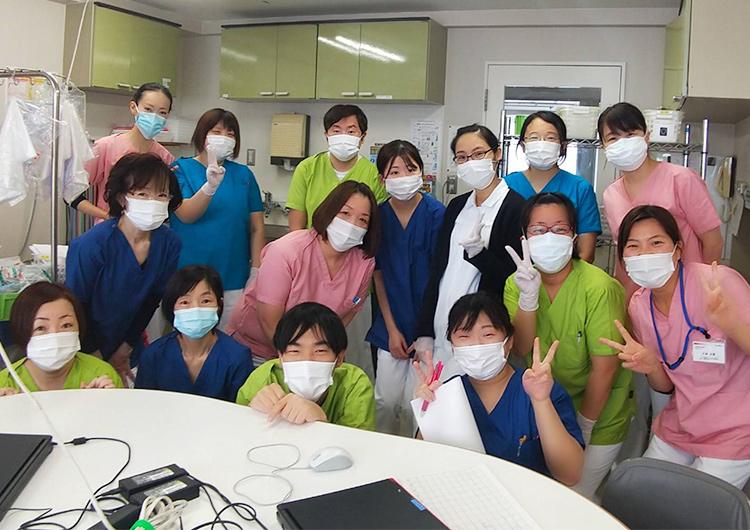 北海道クラスター対策医療支援 小林看護師によるレポート