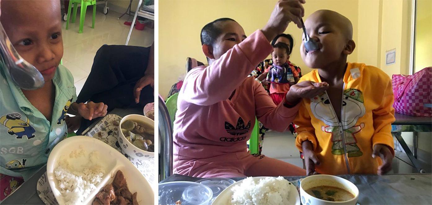 カンボジアの食材で、栄養たっぷりの給食提供を ジャパンハート