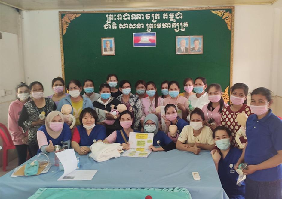 助産師、看護師向けにNCPR(新生児蘇生法)のレクチャーを行いました。 ジャパンハート