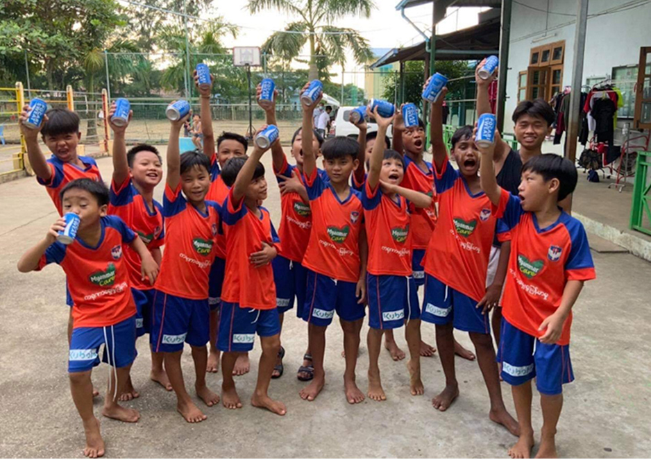 Dream Train Albrex Myanmar様によるサッカーのオンラインレッスン
