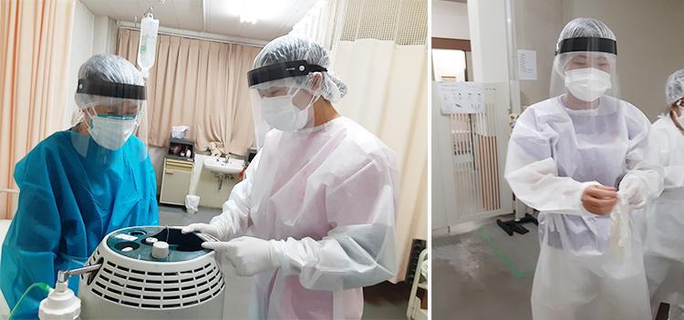 栃木 グリーンホーム クラスター支援 小林看護師からのレポート