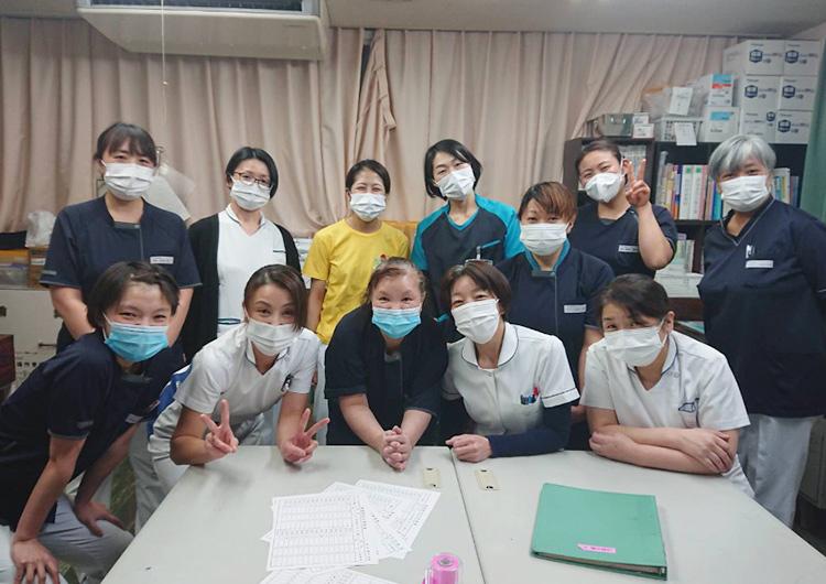札幌 白石中央病院クラスター支援 洞口看護師からのレポート